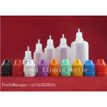 E Liquid bottle10ml 15ml 20ml botella de fumar de 30ml60ml con el casquillo de la prueba del niño