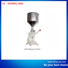 Manual Filler A03 (Juice Cosmetic Shampoo Filling Machine)