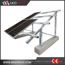 Durable en usage Ground Spike pour système de montage solaire (ZX033)