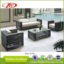 Big Rattan gewebte Outdoor-Möbel Dh-821