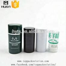 30/50 / 75ml colorido torção alta qualidade vazio rodada fragrância vara desodorante recipiente