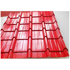 Glazed Steel Roofing Tile