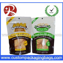 Pet Ziplock Stand Up Pouches 10 Color Printing Available For Cookies