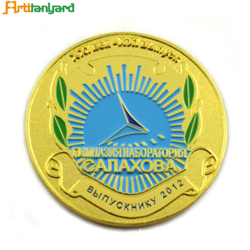 Promoção Gift Custom Metal Coin With Plated