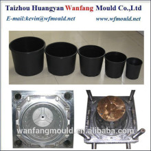 zhejiang taizhou flower pot mold manufacturers/all kinds of plastic flower pot injection mould/molding for plant pot