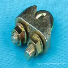 Clip de câbles en acier DIN 1142 fonte malléable