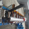 Low cost safety interior roller shutter doors rolling machine