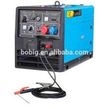 Groupe de générateur de soudure diesel chaud de vente 280A silencieux BDW300SE