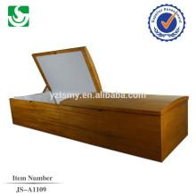 Caixão de madeira barato de estilo Europeu