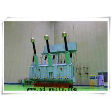 220 Kv China Transformador de potencia de distribución de inmersión de aceite para la fuente de alimentación