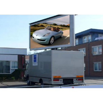 Mobile LED Screen Trailer Advertising Video Wall Screen