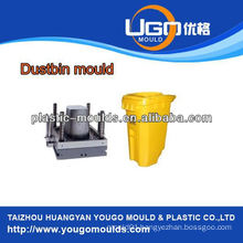 best selling plastic garbage bin crate mould injection, environmental sanitation trash bin crate mould