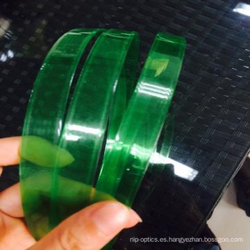 Correa plástica de alta tensión con correa verde para mascotas