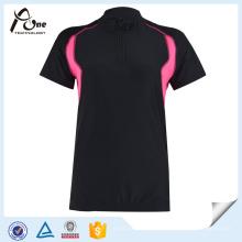 Venda Por Atacado Mulheres Manga Curta Camisas Custom Cycling Wear