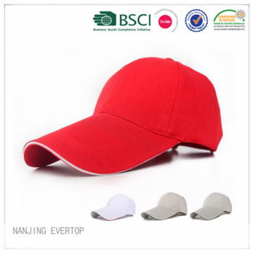 Hot Sale 6 Panel Long Peak Promotional Cap