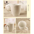 factory flower design ceramic coffee mug,hot sale ceramic mug,milk cup