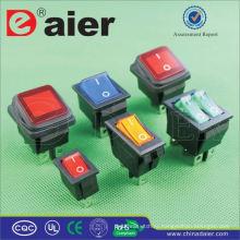 Daier 15А 250В перекидной переключатель KCD2