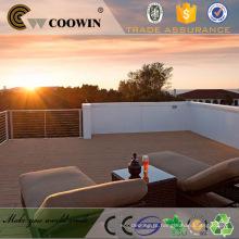 Decking da folhosa do revestimento de folhosa WPC de COOWIN