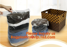 Customized cube super-large vacuum storage compression jumbo bag for bedding and clothing