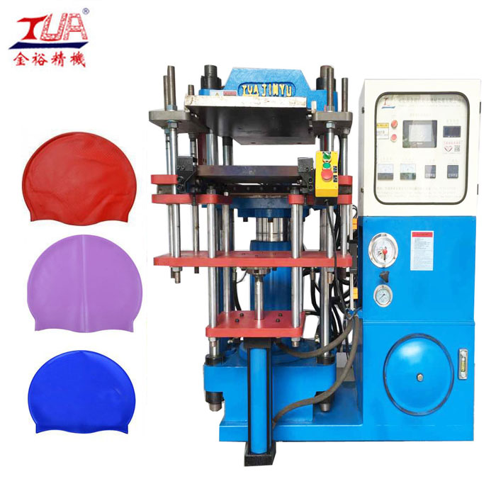 Hydraulic Press Machine Making Rubber Phone Case