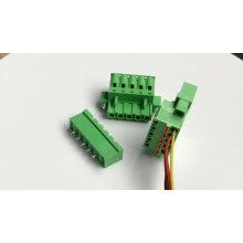 push in botton pluggable terminal block