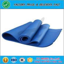Tapis de yoga d'OEM de TPE / PVC / NBR / EVA / en caoutchouc, tapis de yoga écologique non toxique de haute qualité