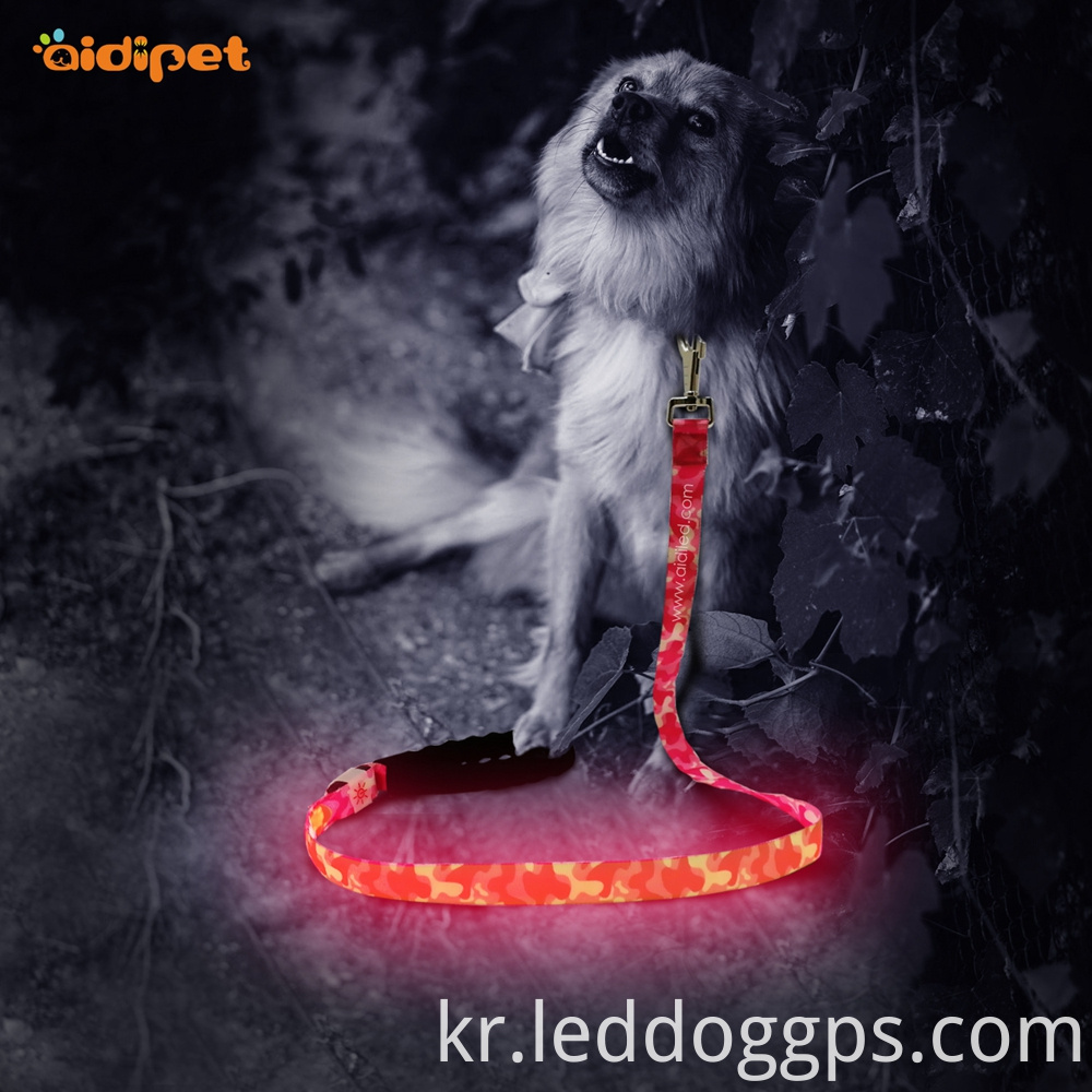 Rechargeable Led Dog Lead