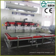 Automatique Deep Emboss Hot Press Floor Laminate Machine