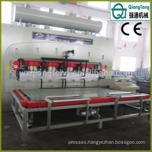 Automatic Deep Emboss Hot Press Floor Laminate Machine