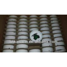 Haonai 2014bulk белая заказная печать керамическая пепельница на продажу