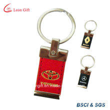 Hot Press Logo Leather Key Chain