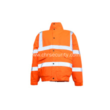 Reflective Safety Jacket with Pockets