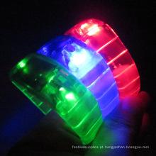 pulseiras de led controle remoto xyloband