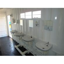 Salle de bains préfabriquée, salle de bains préfabriquée, salle de bains de conteneur (shs-mc-ablution011)