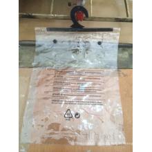 PVC-Knopfbeutel mit einem Aufhänger (hbpv-76)