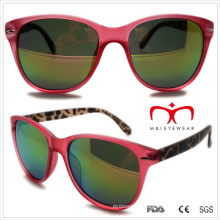 Plastic Unisex Double Color Sunglasses (WSP508305)