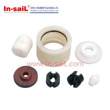 Peças de giro do CNC de POM / Steel do aço para o equitment médico