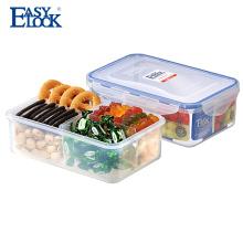 Caja de torta plástica clara al por mayor de los PP al por mayor para el viaje de la familia