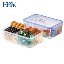 En gros hermétique PP claire boîte à gâteau en plastique pour les voyages en famille