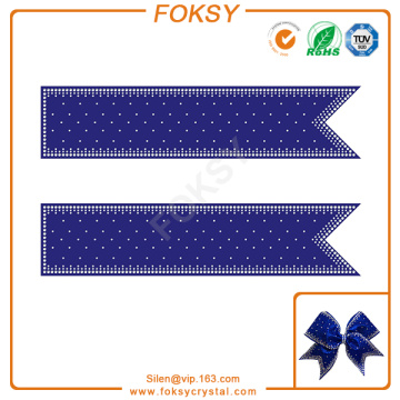 Good Quality for Cheer Bow Strip Rhinestone Transfer cheer bow strips crystal motif transfers supply to Saint Kitts and Nevis Manufacturer