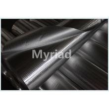 Folha de alumínio para isolamento térmico e protecção