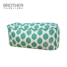 Home furniture colorful soft moroccan patchwork floor pouf