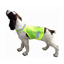 Chaleco de mascota de alta visibilidad para advertencia de seguridad de mascotas