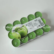 Hight Quality Paraffin Wax and Palm Oil Tealight Candles