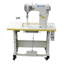 Totalmente automático pequeno alto posto cama resistente Lockstitch máquina de costura