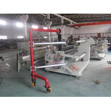 Machine de rebobineuse automatique de rebord de bande adhésive et machine de tranchage de bande adhésive