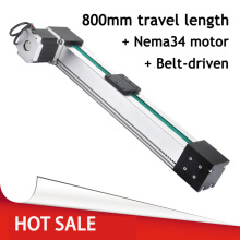 Belt Driven Actuator for Linear Motion Systems