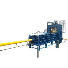 Reciclaje de la máquina cizalla guillotina de metales largos automática