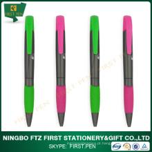 Multi-função de plástico 2 em 1 caneta