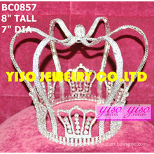 king design rhinestone crown